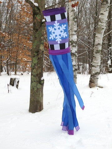 Snowflake Windsock - Islander Flags of Kitty Hawk, Inc.