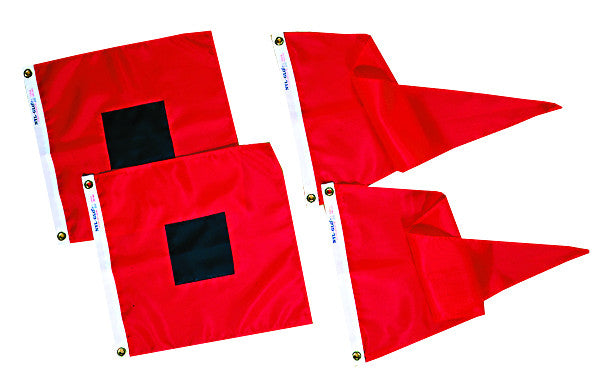 U.S. Storm Signal Flag Set - Islander Flags of Kitty Hawk, Inc.