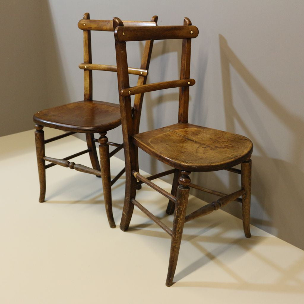 ... Small Wooden Chairs ...