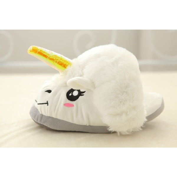 Unicorn Winter Warm Soft Home Floor Slipper Children-Unicorns Wonderland