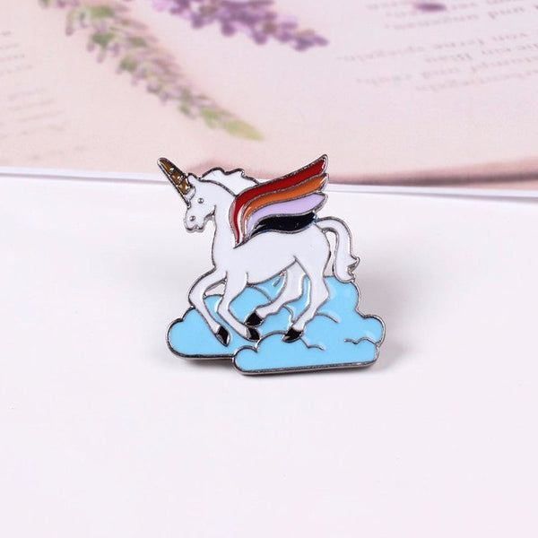 Original Cloud Unicorn Cute Pin Brooches-Unicorns Wonderland