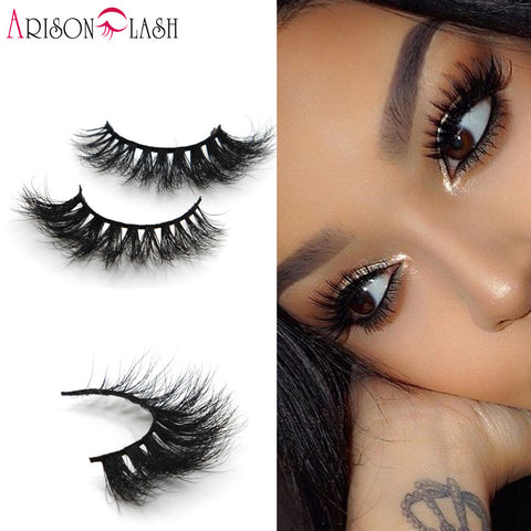 Lilly Miami 3D Full Strip Lashes 100% Real Siberian Mink Strip Eyelashes-Unicorns Wonderland