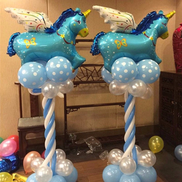 1Pc 80X66Cm Unicorn Pegasus Aluminum Balloons Decoration-Unicorns Wonderland