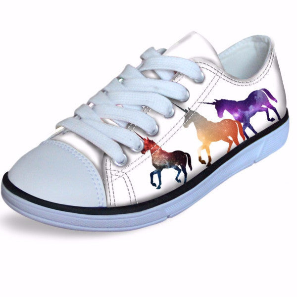 Unicorn Kids Sneakers-Unicorns Wonderland