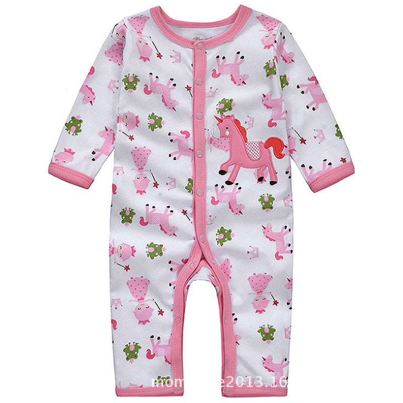Fairy Unicorn Romper Baby Clothing-Unicorns Wonderland