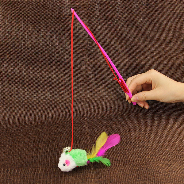 Random Color Cute Pet Toy With Bell-Unicorns Wonderland