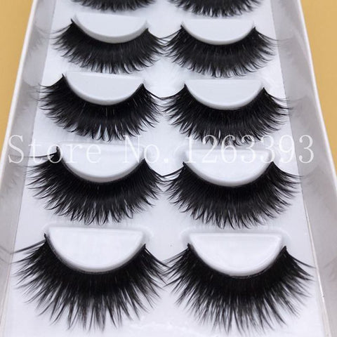 False EyeLashes 1 Box 6 Pairs-Unicorns Wonderland