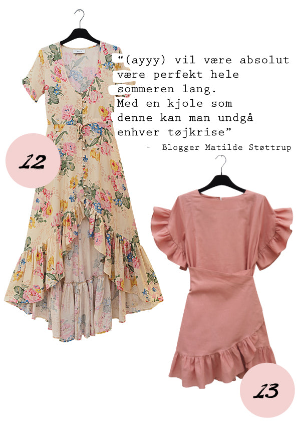 Flower summer dresses, blomster kjoler