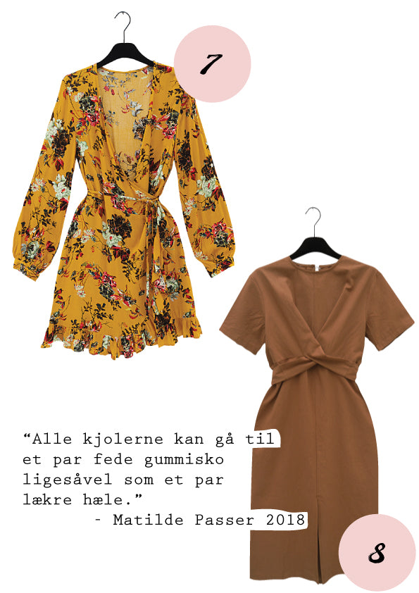 Yellow flower print wrap dress