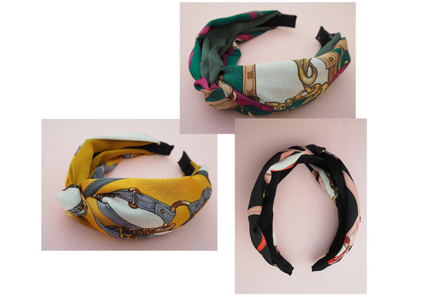 silk scarf headbands
