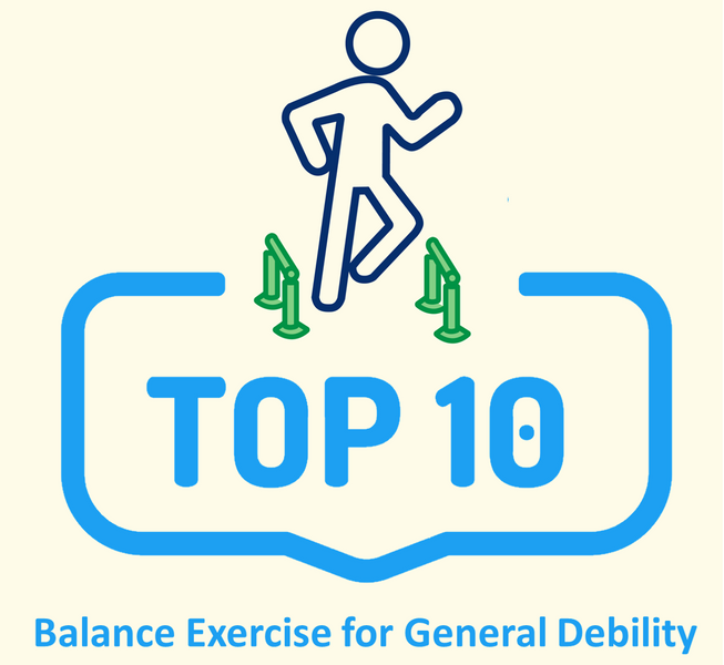 Top-10 Balance Exercises for General Debility