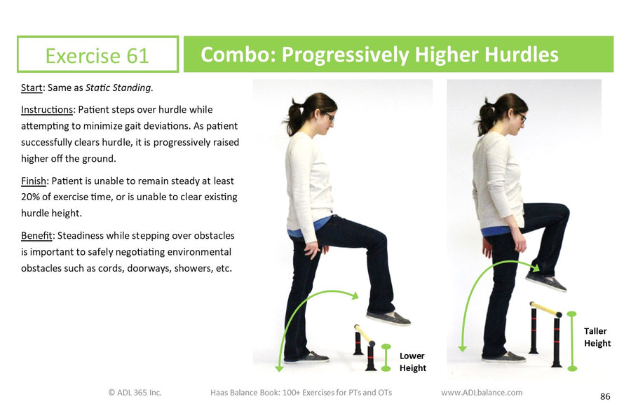 Crosswalk #2: Dynamic Gait Index and Haas Balance Book