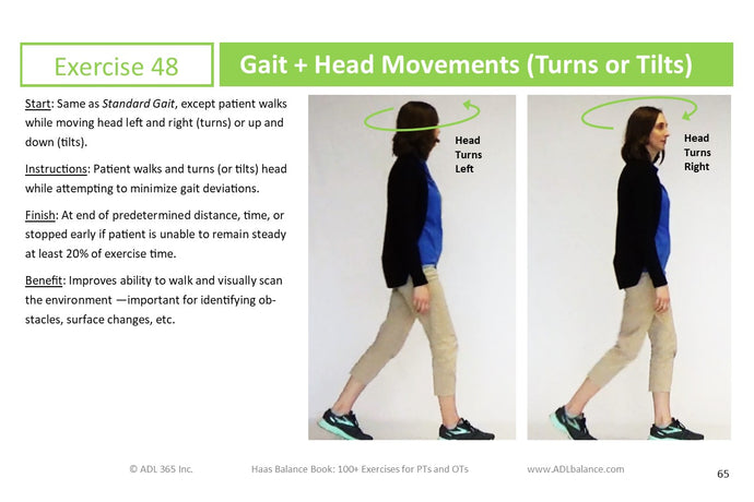 Crosswalk #5: Timed Up & Go (TUG) and Haas Balance Book