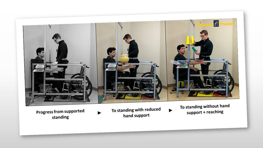 Unable to Stand Without Help? The ADL Balance Trainer Can Help.