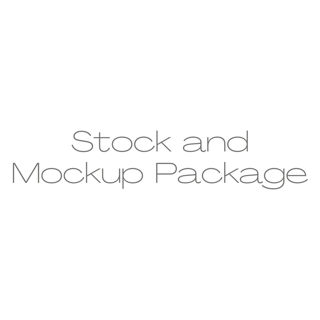 Stock and Mockup Package