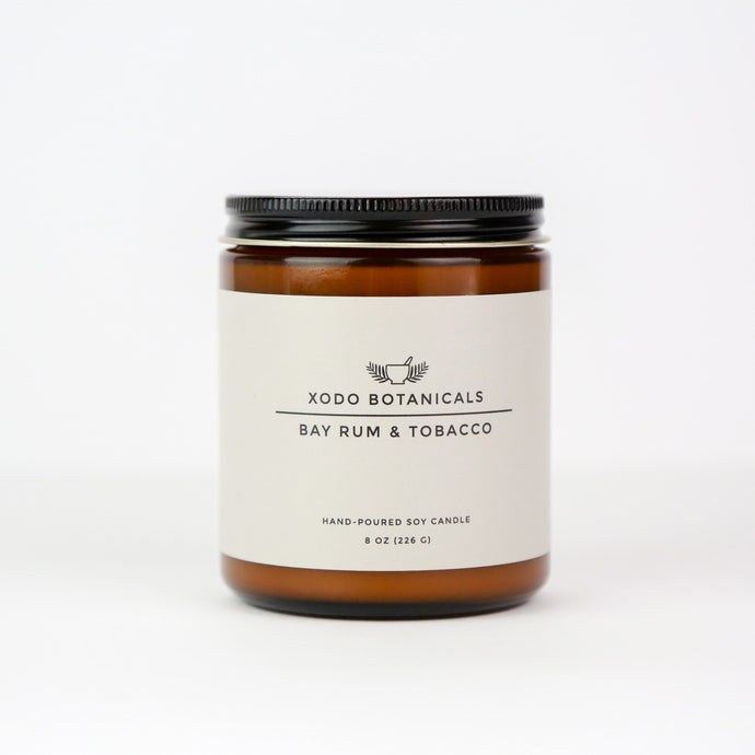 BAY RUM & TOBACCO CANDLE