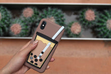 Load image into Gallery viewer, Hold My Bubble Tea Phone Case (Pearl Brown) - The Lab