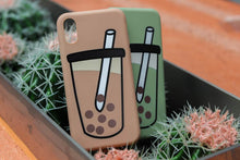 Load image into Gallery viewer, The Last Bubble Tea Phone Case (Pearl Brown) - The Lab