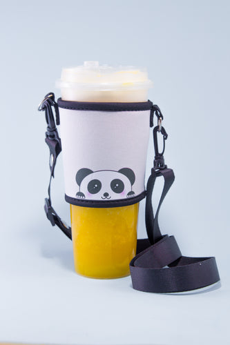 Pablo the Panda Bubble Tea Holder - The Lab