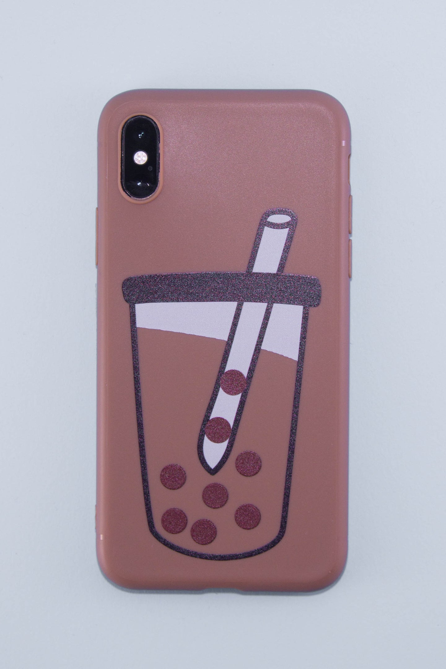 The Last Bubble Tea Phone Case (Pearl Brown) - The Lab