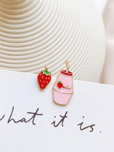 Load image into Gallery viewer, Strawberry and Milk Earrings - The Lab