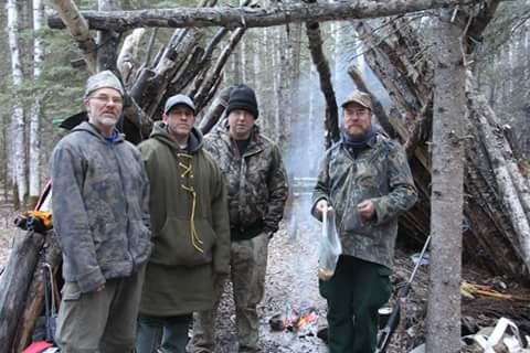 Hunting Camp on Cartright Sny