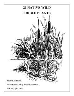 21 Native Wild Edible Plants - Mors Kochanski - Nature Alivebooks