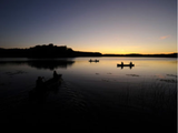 Sunset Canoeing on Thunder Lake - Nature AliveTrips