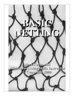 Basic Netting Pocket Book - Mors Kochanski - Nature Alivebooks