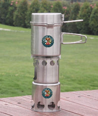 Freeman River Cook Set & Wood Stove Combo - Nature AliveGear