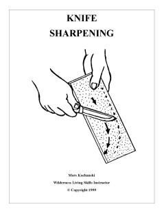 Knife Sharpening Pocket Book - Mors Kochanski - Nature Alivebooks
