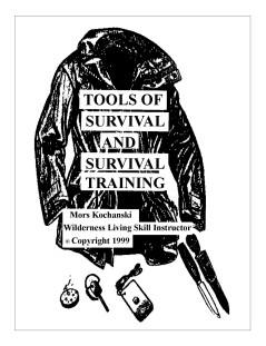 Tools Of Survival & Survival Training Pocket Book - Mors Kochanski - Nature Alivebooks
