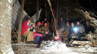 Winter Camping, Bushcraft, and Snowshoe Trip - Freeman River Watershed - Nature AliveTrips