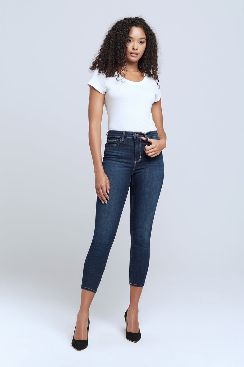 L'AGENCE MARGOT HIGH RISE SKINNY IN VENUS