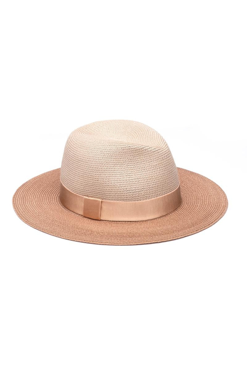 EUGENIA KIM COURTNEY HAT IN NATURAL CAMEL