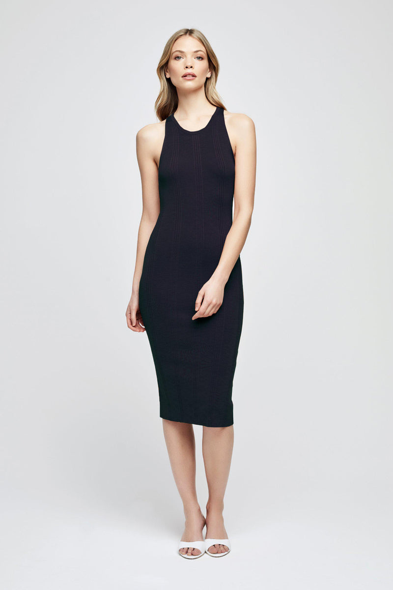 L'AGENCE SHELBY DRESS IN MIDNIGHT