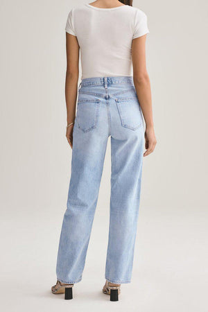 AGOLDE CRISS CROSS JEAN IN SUBURBIA