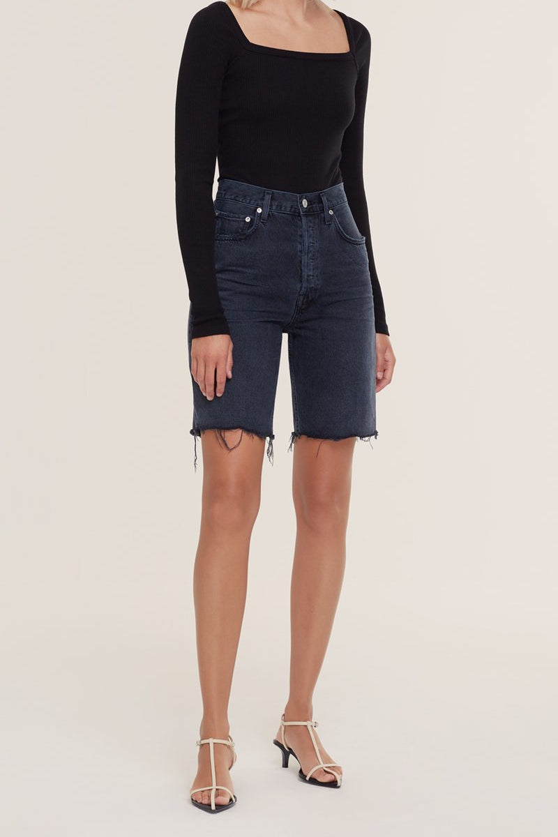 AGOLDE 90s PINCH WAIST SHORT IN NIX