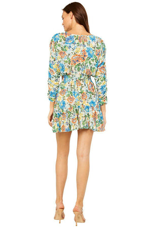 MISA CHIARA DRESS IN OASIS FLORAL