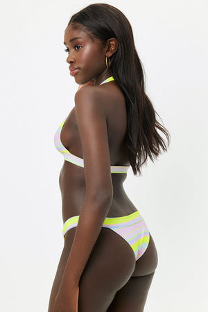 FRANKIE'S BIKINIS EDEN TOP IN SUMMER STRIPE