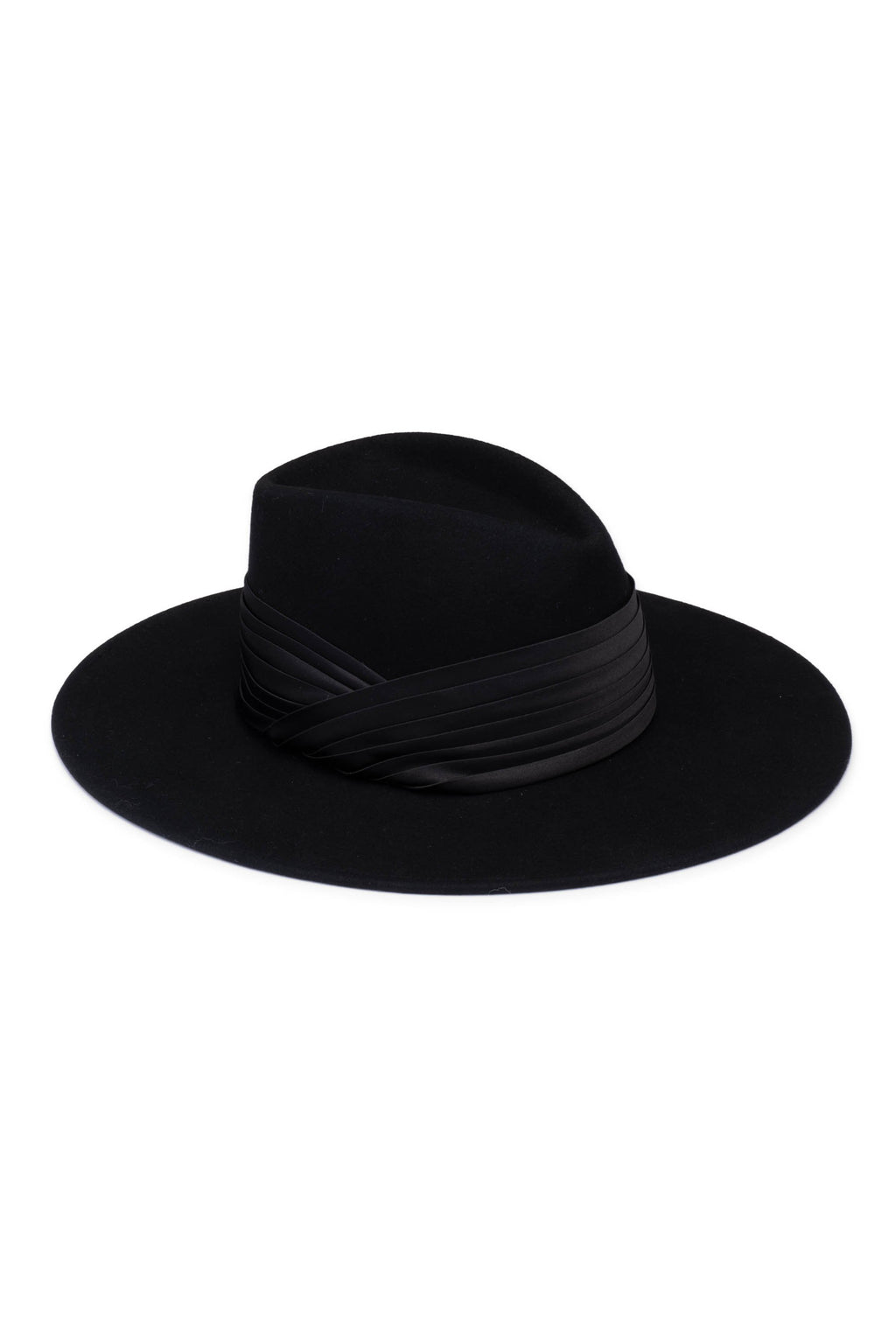 EUGENIA KIM BLACK HARLOWE HAT