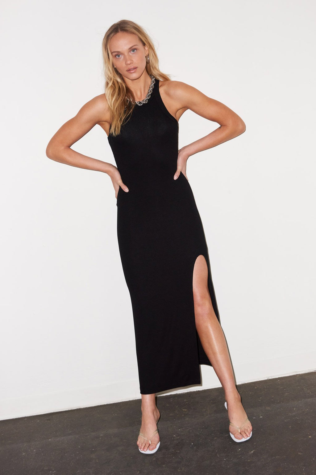 LNA CANDI DRESS IN BLACK