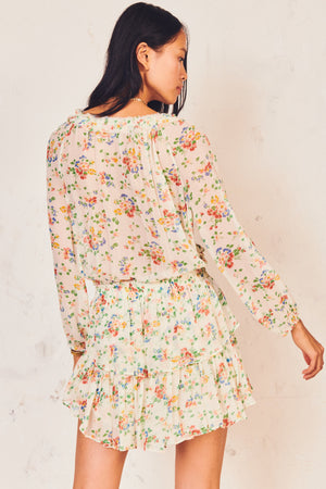 LOVESHACKFANCY POPOVER DRESS IN FLORAL CONFETTI