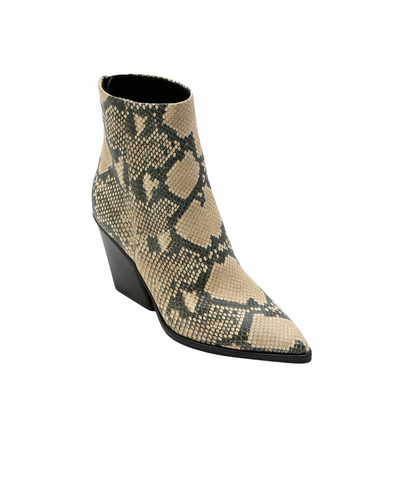 DOLCE VITA ISSA BOOTIE IN SNAKE