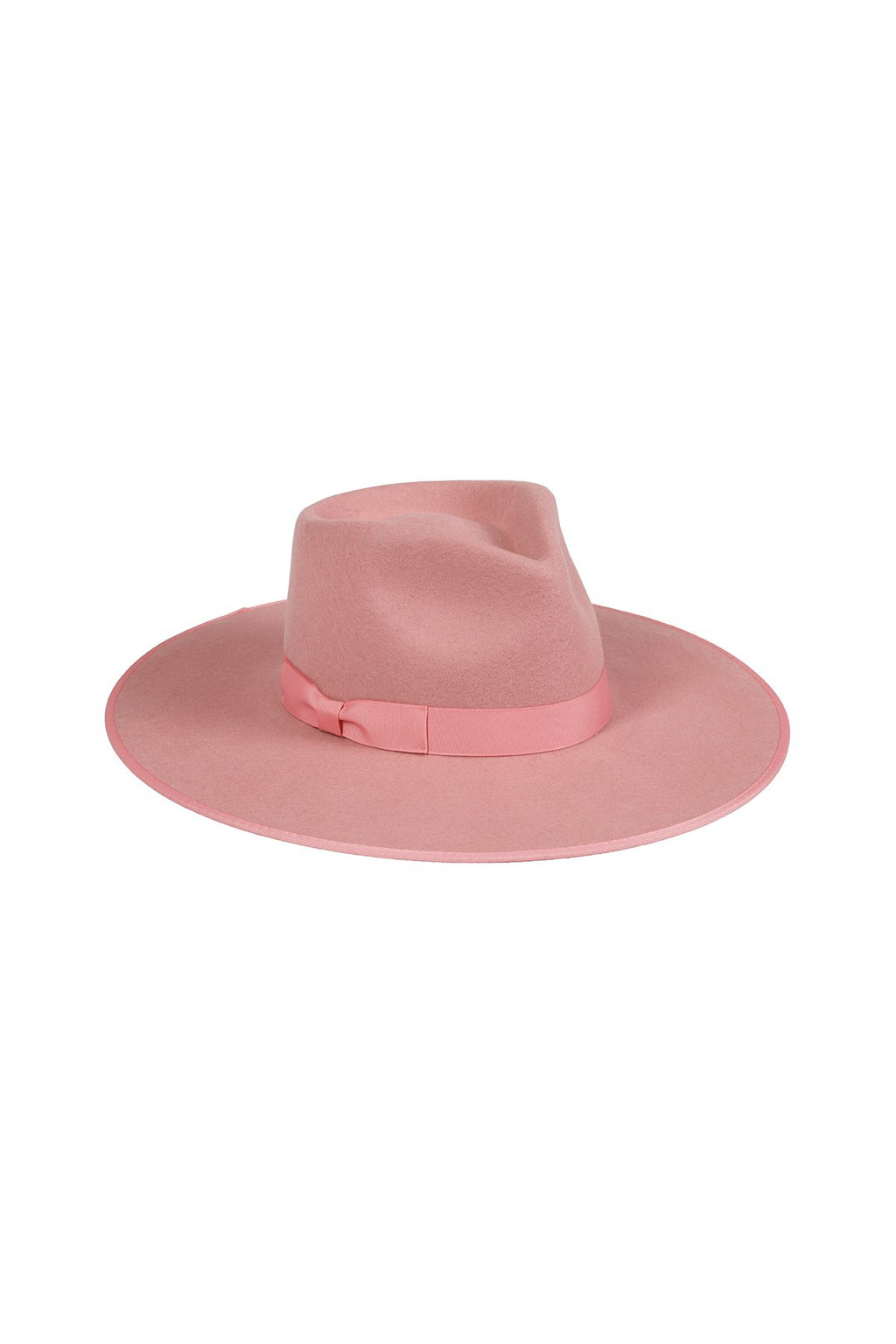 LACK OF COLOR RANCHER HAT IN ROSE