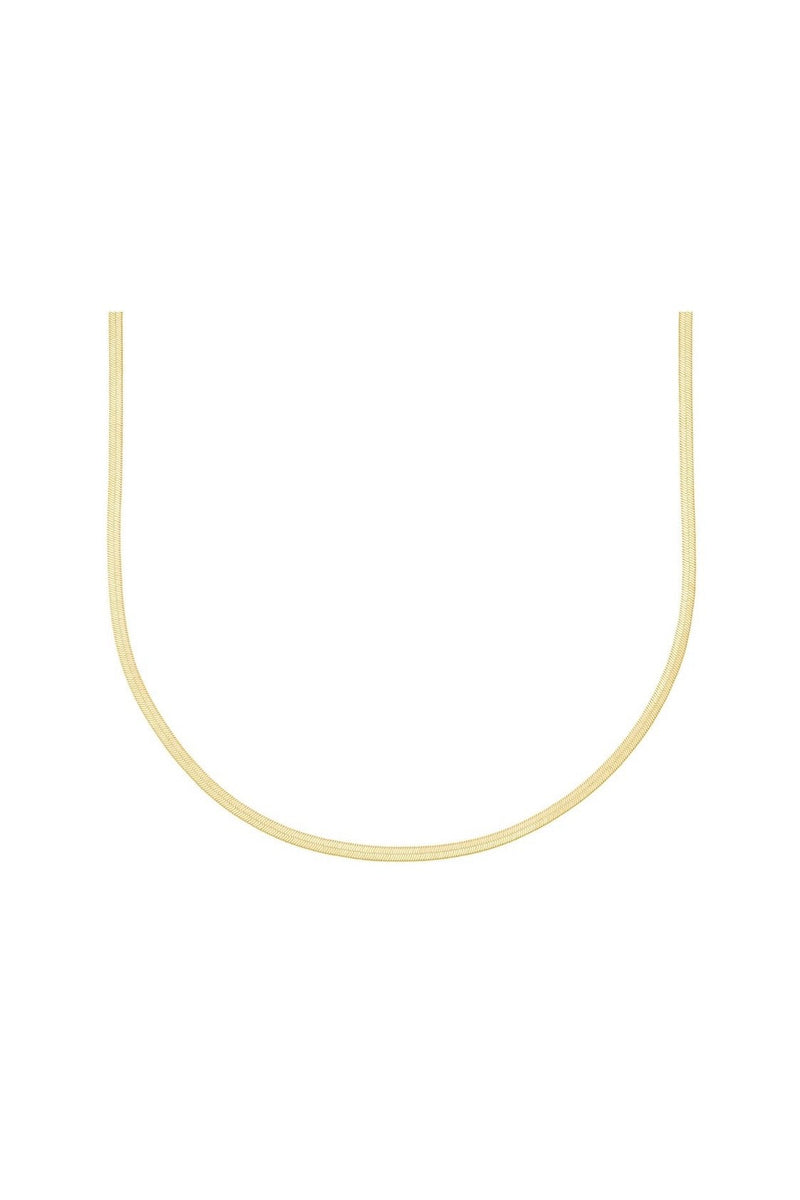 ELECTRIC PICKS PYTHON 3MM NECKLACE IN GOLD