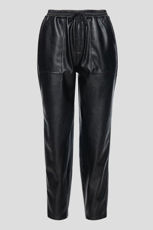 BLANK NYC VEGAN LEATHER JOGGER IN NO GUIDANCE