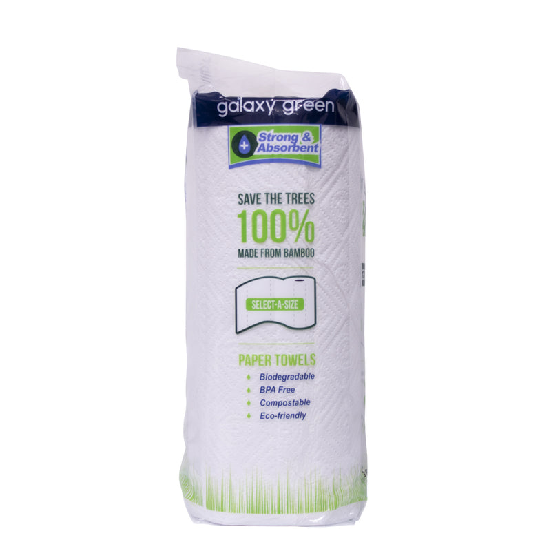 Bamboo Paper Kitchen Towel 150sheets (3 Rolls) - MWPolar