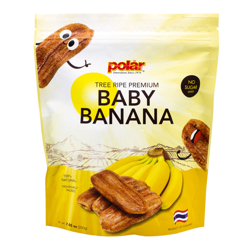 Sun Dried Bananas 7.05oz (Pack of 2 or 9) - MWPolar