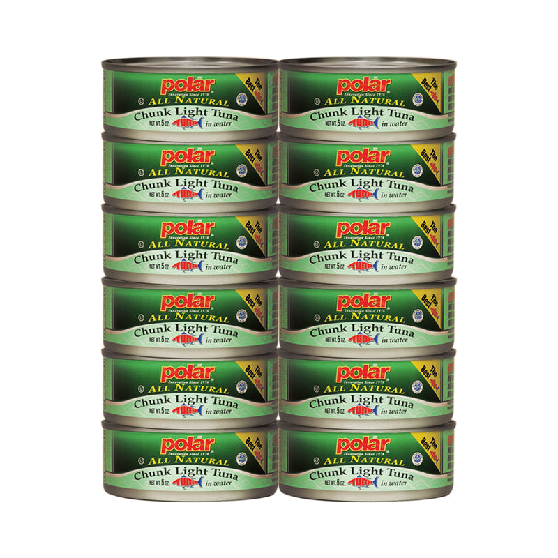Chunk Light Tuna 5 oz (Pack of 6 or 12 or 48)